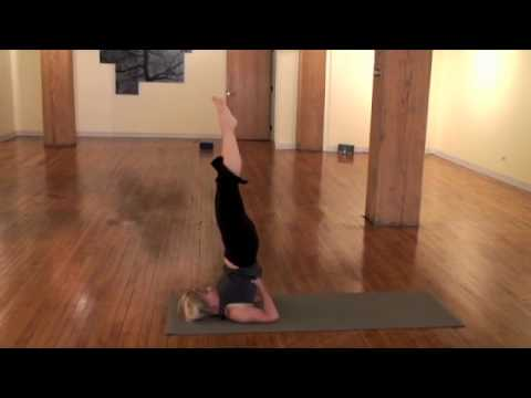 Yoga moves by Livia Budry