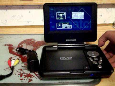 sylvania portable dvd player 001.MOV