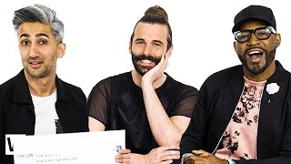 Video Queer Eye Cast Answer the Web's Most Searched Questions | WIRED MP3, 3GP, MP4, WEBM, AVI, FLV Mei 2019