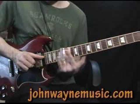 Learning Slide Guitar:  A slide guitar lesson in Open E
