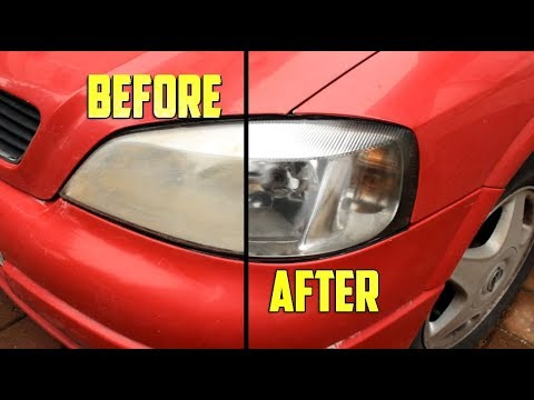 How To Permanently Restore Foggy Headlights