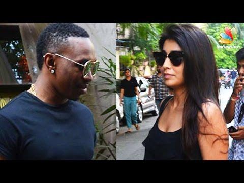 Shriya-Saran-Dwayne-Bravo-caught-on-a-lunch-date-Hot-Tamil-Cinema-News
