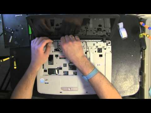 ACER ASPIRE 5315 take apart video, disassemble, how to open disassembly