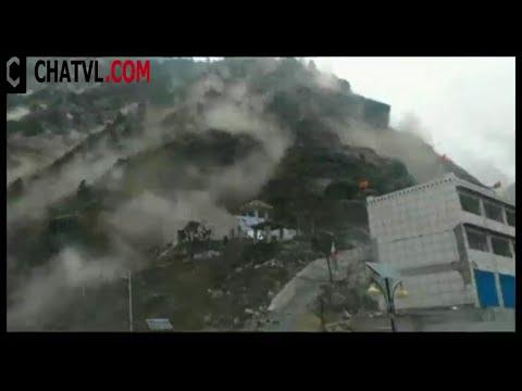Nhìn lại cảnh quay trực tiếp trận động đất long trời lở đất Nepal :( lây sang cả Tây Tạng :-O
