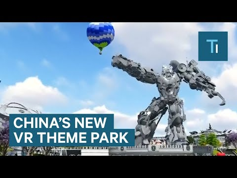 This Is 'Oriental Science Fiction Valley,' China's Virtual Reality Theme Park