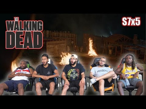 "The Walking Dead Season 7 Episode 5 ""Go Getters"" Reaction/Review"
