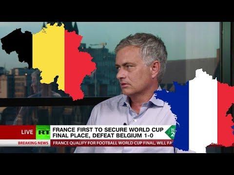 'Belgium kept hiding on the biggest stage, but Pogba was mature' - Jose Mourinho on France v Belgium