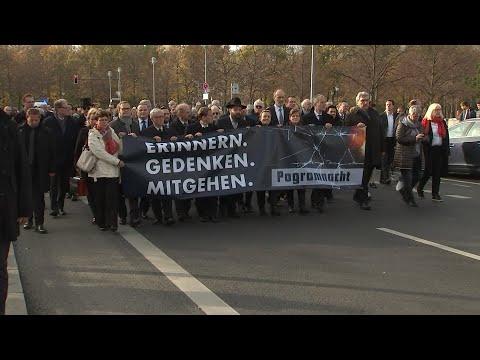 Berlin gedenkt der Opfer der Reichspogromnacht: Gegen das Vergessen