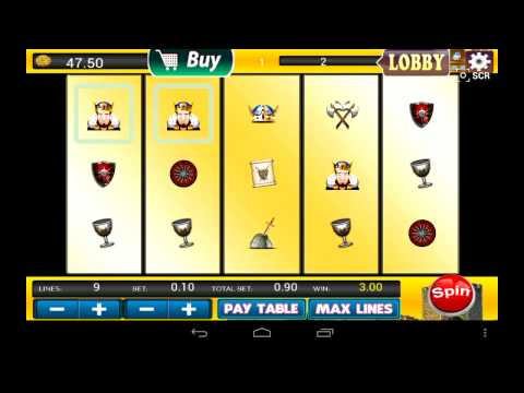 Video of Slots - King Cash of Camelot