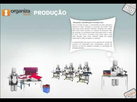 Organiza Têxtil - Produção