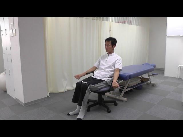 【セルフケア動画】デスクワーク時の足のむくみセルフケア