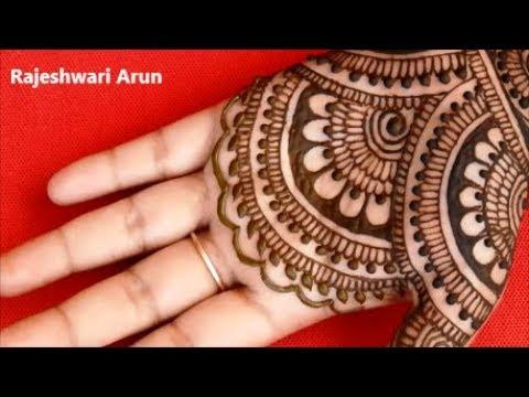 latest full hand mehndi design tutorial