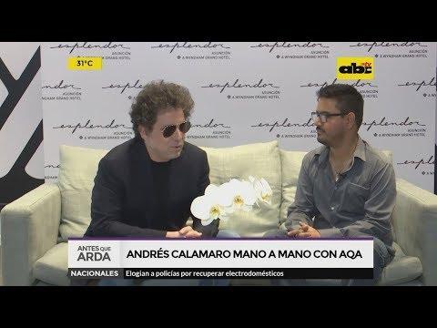 """Andrés Calamaro en """"Antes que Arda"""""""