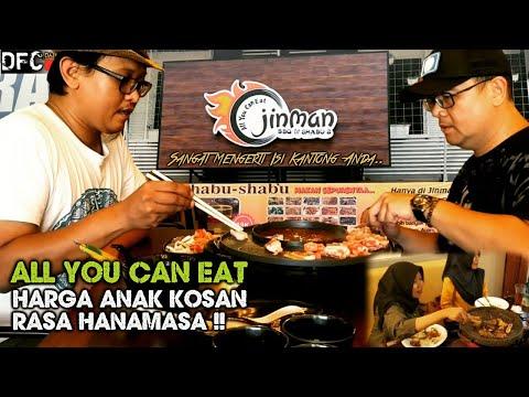 Mumpung Murah! Jangan Makan Nasi di Sini Cuy.. Rugi! - All You Can Eat JINMAN BBQ & SHABU2 Viral!