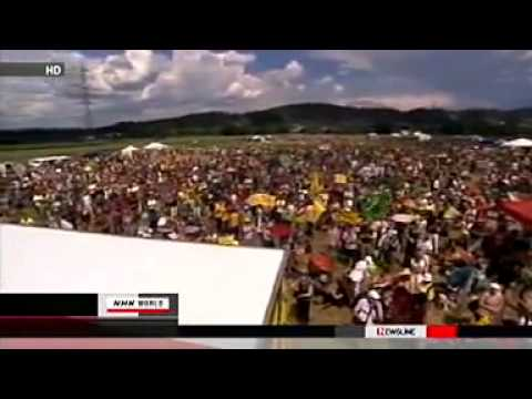 20,000 Swiss protest against NUCLEAR POWER