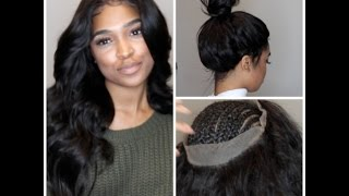 """Hey y'all! I know it's been a while... A LONG WHILE.. However, I decided to do another frontal tutorial for you guys! This time using the 360 frontal.. In this video I show how to customize and install the 360 lace frontal without any adhesive because everything I do is GLUELESS! Don't believe me? Check out my instagram for more photos of my installs. :) Hope you enjoy this video! MUAH!Looking for a review on your lace wig company? Email: envoguemehairtv@gmail.comHAIR """"DEETS"""" : 3 Bundles USEDCoupon code(10% off): Envogueme360 Lace Frontal Link: http://www.envogueme.luvmehair.com/shopping/pre-plucked-360-lace-frontal-virgin-hair-bundles-with-frontal.html 360 Lace Frontal Wig Link: http://www.envogueme.luvmehair.com/shopping/360-lace-wig-220180-density-pre-sewed-in-with-pre-plucked-360-lace-frontal.html   360 Lace Frontal with Cap Link: http://www.envogueme.luvmehair.com/shopping/pre-plucked-360-lace-frontal-with-cap-high-density-with-bundles.html   Hair Bundles Link: http://www.envogueme.luvmehair.com/shopping/best-virgin-hair-silky-straight-hair-3pcslot.html   PRODUCTS USED- http://www.invoguemehair.com/products/Blue Magic on Scalp: https://www.amazon.com/gp/product/B000RYLGEI/ref=as_li_tl?ie=UTF8&tag=envog-20&camp=1789&creative=9325&linkCode=as2&creativeASIN=B000RYLGEI&linkId=4d92730af3a8573783e5337ed7b8083bFlat Iron: https://www.amazon.com/gp/product/B00176B9JC/ref=as_li_tl?ie=UTF8&tag=envog-20&camp=1789&creative=9325&linkCode=as2&creativeASIN=B00176B9JC&linkId=04d13bc8db3c5332cbc5657d881d1a32EDGE CONTROL: https://www.amazon.com/gp/product/B00I5728LO/ref=as_li_tl?ie=UTF8&tag=envog-20&camp=1789&creative=9325&linkCode=as2&creativeASIN=B00I5728LO&linkId=aea0c6c6c4063dacc10291e9a1d99d9fSubscribe , Like, and Comment for more videos! Please do not hesitate to let me know what you'd like to see ! LOCATED IN ATLANTA, GAwww. invoguemehair.com@invoguemehair@envogueme"""