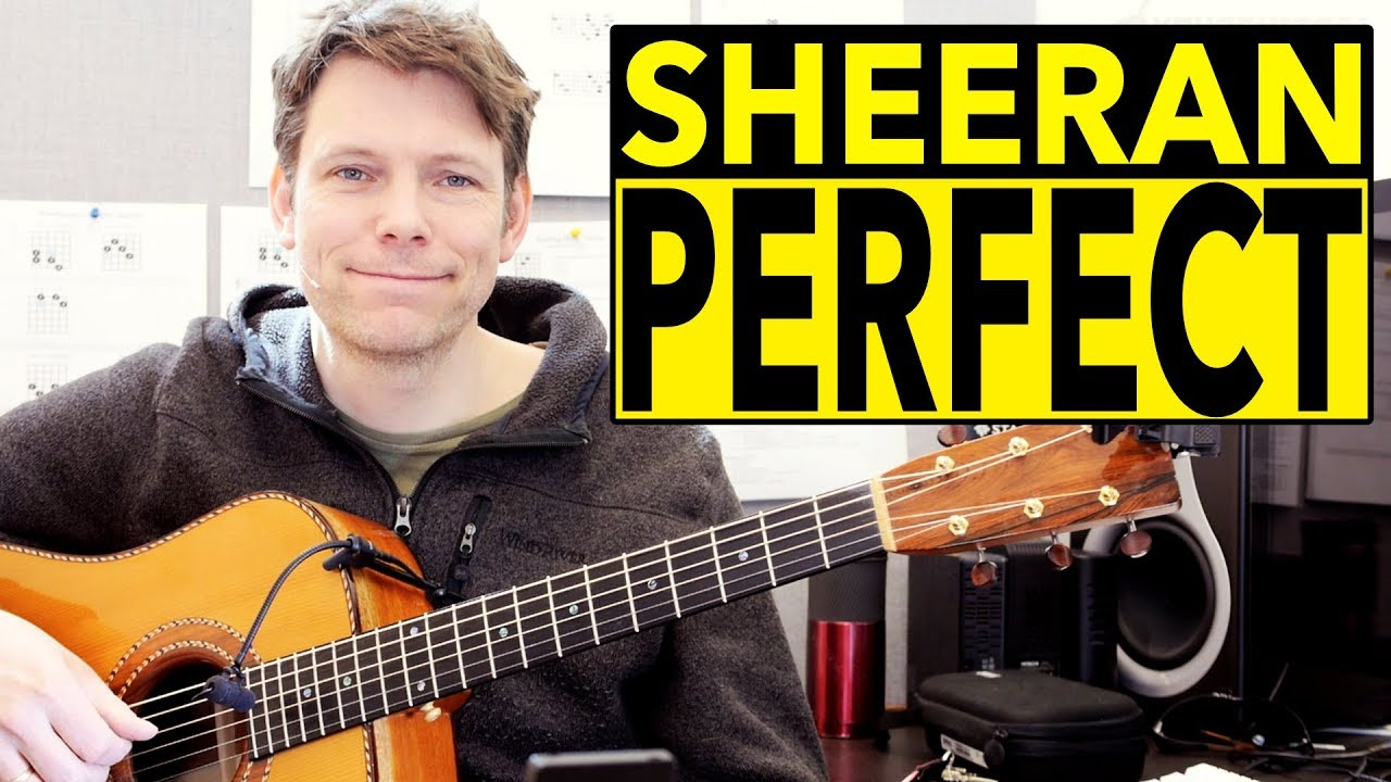 How To Play Perfect by Ed Sheeran on Acoustic Guitar – Fingerstyle Tutorial