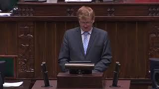 Absolutny hit! Tak jedyny poseł PiS obecny na sali sejmowej uzasadnia wniosek o odrzucenie ustawy Polskie Stronnictwo Ludowe