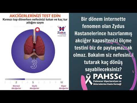 Bir nefes, bir soluk. Akciğerlerinizi test edin - 2021.08.02