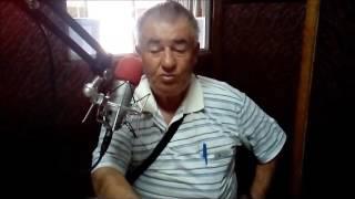José Walter Calsavara nos bastidores da Atrativa FM