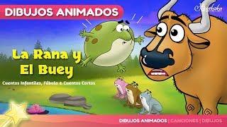 La Rana y el Buey 🐸 & 🐮 - Cuentos Infantiles para dormir en Español
