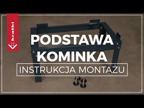 Podstawa kominka - Instrukcja montażu