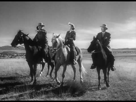 The Furies  Western 1950  Barbara Stanwyck, Walter Huston & Wendell Corey