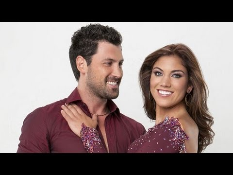Hope Solo Memoir: I Was Slapped by Dancing With the Stars Trainer Maks Chmerkovskiy (видео)