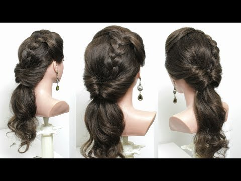 Hairstyles for long hair - Simple Low Ponytail Hairstyle For Long Hair Tutorial