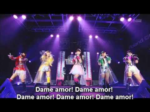Momoiro clover Z Moretsu Uchu Kokyokyoku Dai 7 Gakusho 'Mugen no Ai' Sub Spanish (видео)