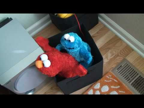 Cookie Monster Caught With Elmo