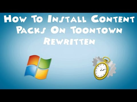 How To Install Content Packs on Toontown Rewritten (Windows)