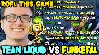 Video Tinker God Funkefal Vs Team Of Gods Team Liquid - Most Funny Battle Cup Dota 2 MP3, 3GP, MP4, WEBM, AVI, FLV Januari 2019