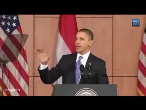 President Obama Speaks Indonesian, Learn At Cinta Bahasa Indonesian Language School - Bali Indonesia