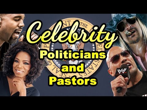 NOW SHOWING: Celebrity Politicians and Pastors: The Rise of American Idols