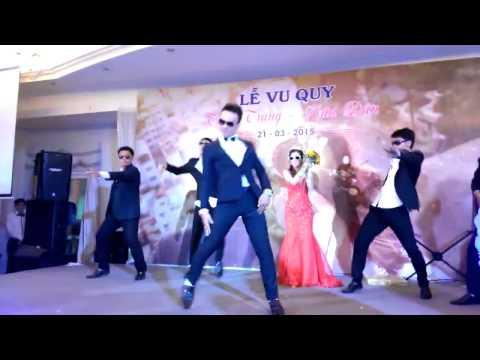 Cô Dâu Chú Rể Nhảy Gangnam Style Hót Nhất Quả Đất