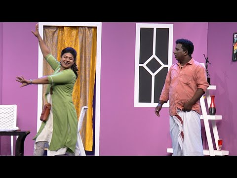 Thakarppan Comedy | How to deal with a difficult wife | Mazhavil Manorama