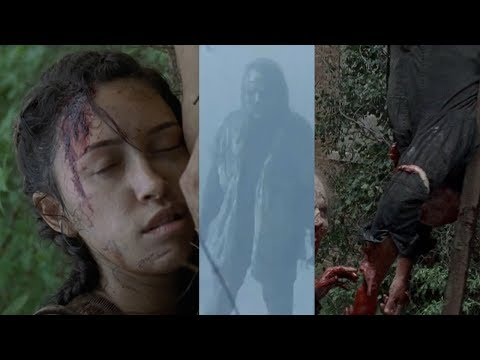 SPOILERS! Opening minutes episode 7! WHISPERERS ATTACK! WILL ROSITA DIE? DEATH PREDICTIONS! TWD S9