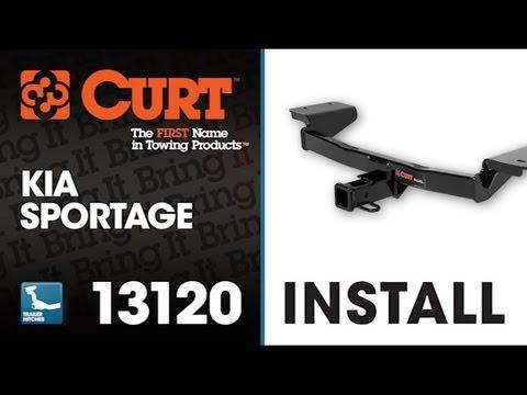 Trailer Hitch Install: CURT 13120 on 2011 KIA Sportage