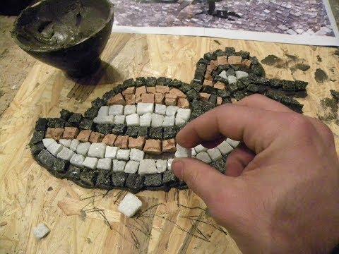 Aprender a fazer mosaico