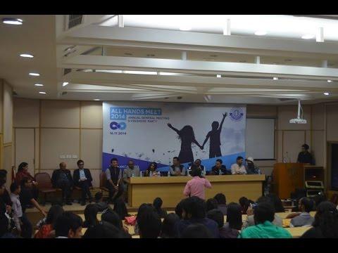 IIMC Freshers' Interaction | All Hands Meet, 2014 | Part- 1