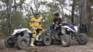 7. Yamaha Raptor 700 and YFZ450R Hypersports ATV test