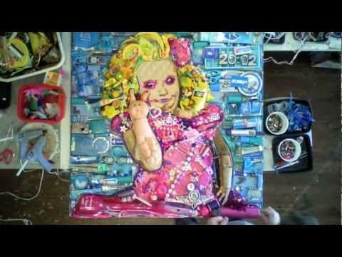 Watch: Honey Boo Boo Has Her Portrait Made from 25 Pounds of Trash