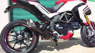 6. Ducati Mutlistrada 1200 Video Termignoni Exhaust Sound Comparison