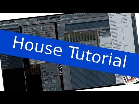 How to Wie (Avicii House / Trance) Musik / Einen Beat selber am PC machen Nr. 1 [FL STUDIO TUTORIAL]