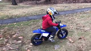 3. Santa brought Jojo a new 2019 PW50!!!