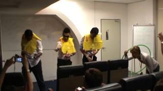 Video Funny AirAsia Safety Demonstration @ AirAsia Academy MP3, 3GP, MP4, WEBM, AVI, FLV Juni 2018