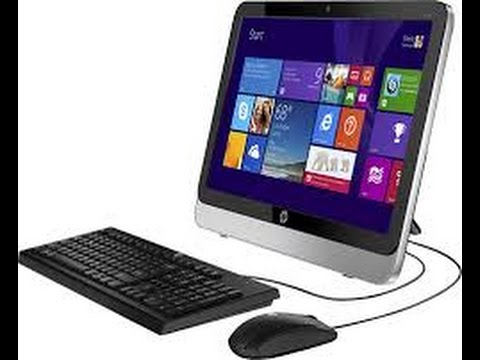 "HP - 19.45"" All-In-One - AMD E1-Series - 4GB Memory - 500GB Hard Drive - Black/Aluminum"