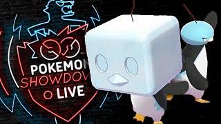 Enter EISCUE! Pokemon Sword and Shield! Eiscue NOICE Pokemon Showdown Live! by PokeaimMD