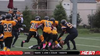 NCAFA 2K16 - BANTAM - Quarter Final [ Bell Warriors vs Bel -Air Lions